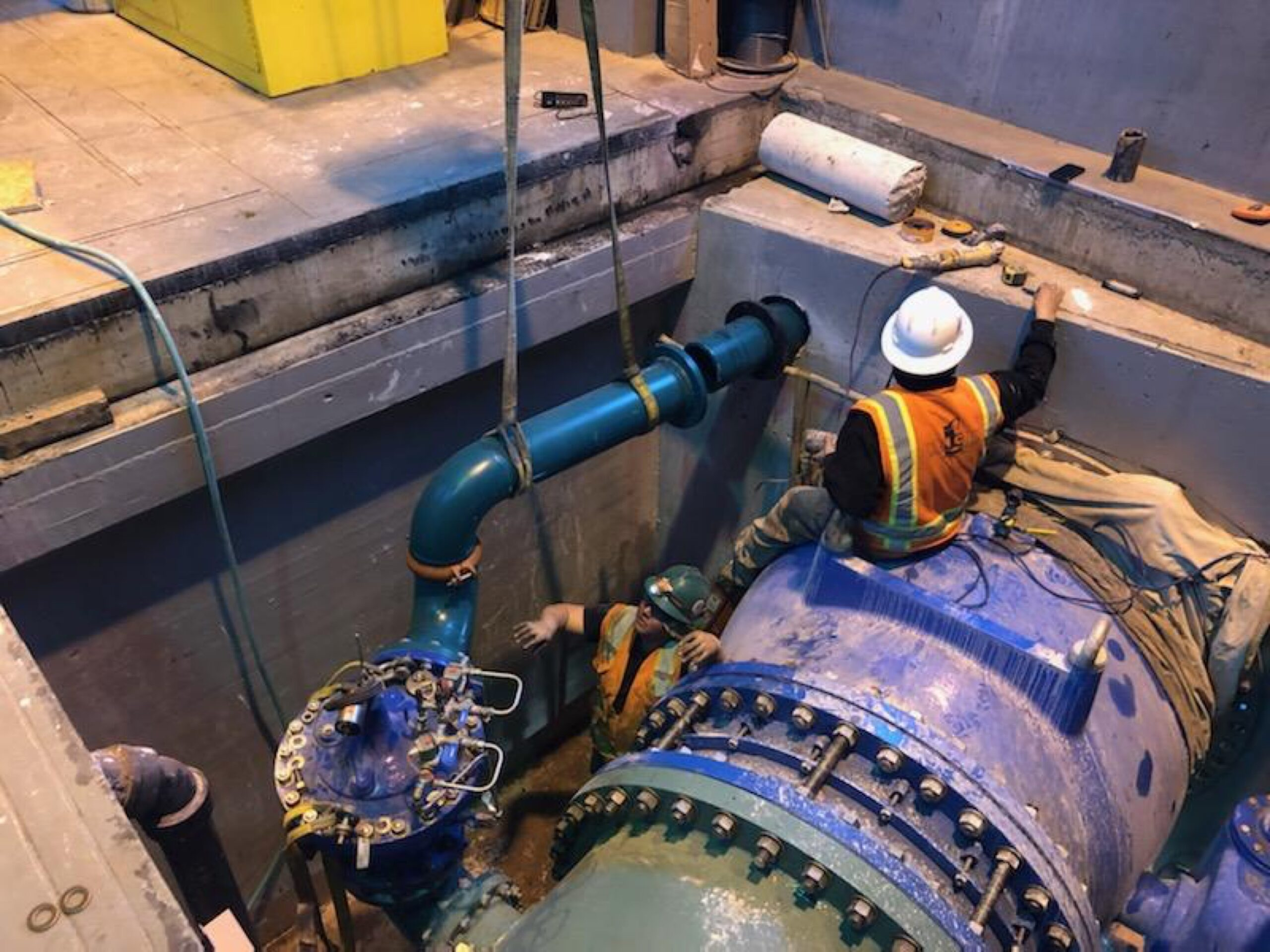 Tube Valve Replacement Project